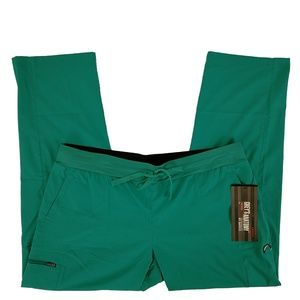 Grey's Anatomy Scrub Pants XL Petite Jade Jewel